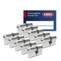 ABUS BRAVUS 3000 Zylinder mit Bohr- und Ziehschutz BZD (10x) - SKG***