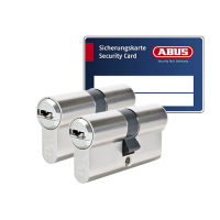 ABUS BRAVUS 3000 Zylinder mit Bohr- und Ziehschutz BZD (2x) - SKG***