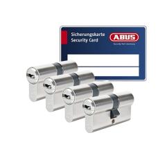 ABUS BRAVUS 3000 Zylinder mit Bohr- und Ziehschutz BZD (4x) - SKG***