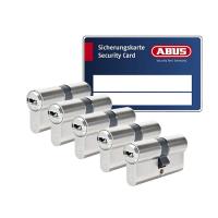 ABUS BRAVUS 3000 Zylinder mit Bohr- und Ziehschutz BZD (5x) - SKG***