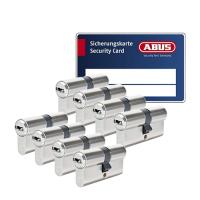 ABUS BRAVUS 3000 Zylinder mit Bohr- und Ziehschutz BZD (8x) - SKG***