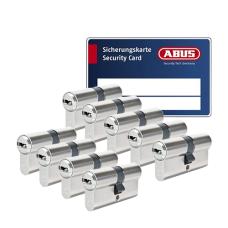 ABUS BRAVUS 3000 Zylinder mit Bohr- und Ziehschutz BZD (9x) - SKG***