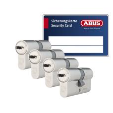 ABUS VELA 1000 Zylinder mit Kernziehschutz (4x) - SKG***