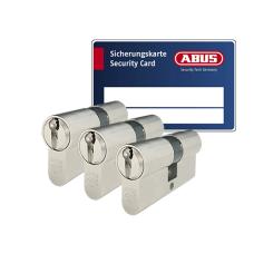 ABUS ZOLIT 1000 Zylinder mit Kernziehschutz (3x) - SKG***