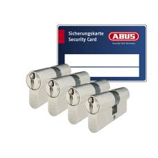 ABUS ZOLIT 1000 Zylinder mit Kernziehschutz (4x) - SKG***