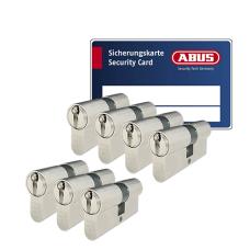 ABUS ZOLIT 1000 Zylinder mit Kernziehschutz (7x) - SKG***