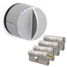 Danalock V3 + M&C Matrix Zylinder mit Kernziehschutz (4x) - SKG***
