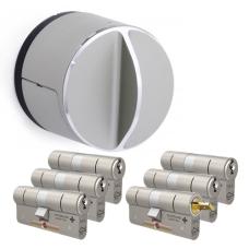 Danalock V3 + M&C Matrix Zylinder mit Kernziehschutz (6x) - SKG***