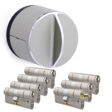Danalock V3 + M&C Matrix Zylinder mit Kernziehschutz (7x) - SKG***