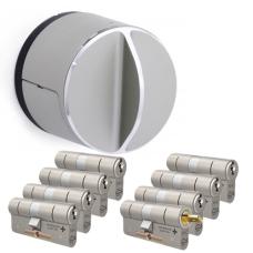 Danalock V3 + M&C Matrix Zylinder mit Kernziehschutz (8x) - SKG***