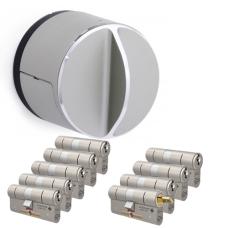Danalock V3 + M&C Matrix Zylinder mit Kernziehschutz (9x) - SKG***