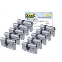 EVVA ICS Zylinder mit Kernziehschutz (10x) - SKG***