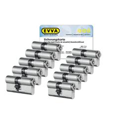 EVVA MCS Zylinder mit Kernziehschutz (10x) - SKG***
