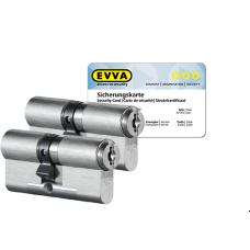 EVVA MCS Zylinder mit Kernziehschutz (2x) - SKG***