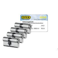 EVVA MCS Zylinder mit Kernziehschutz (4x) - SKG***