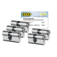 EVVA MCS Zylinder mit Kernziehschutz (5x) - SKG***
