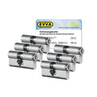 EVVA MCS Zylinder mit Kernziehschutz (6x) - SKG***