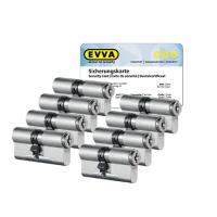 EVVA MCS Zylinder mit Kernziehschutz (8x) - SKG***