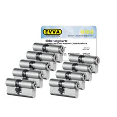 EVVA MCS Zylinder mit Kernziehschutz (9x) - SKG***